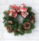 造花モミの木のクリスマスリース手作りキットトップページ