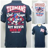 TEDMANテッドマン半袖ポロシャツTSPS-132アメフト/アメカジバイカーミリタリークールビズスポーツ