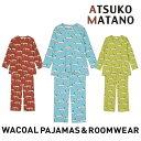 ワコール(WACOAL) アツコ マタノ パジャマ ナイティ レディース (M・L) HDW346