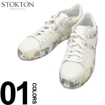 STOKTON (ストックトン) レザー スタースタッズ ローカットスニーカーブランド メンズ 男性 カジュアル ファッション 靴 シューズ スニーカー 革 星 カモフラ ST687U