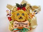 【クリスマス犬用ケーキ】似顔絵犬用ケーキクリスマスver12cm(犬、ケーキ、クリスマス)