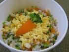 ホタテと卵のリゾット