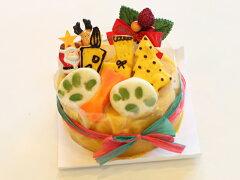 バブルブーオリジナルヘルシー野菜ケーキ!【クリスマス 犬用 ケーキ】クリスマスケーキ 12cm