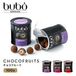 ブボ バルセロナ bubo BARCELONA チョコフルーツ 100g ブラウニー ジャンドゥーヤ シナモン 高級 チョコレート ギフト スイーツ 贈り物 プレゼント 誕生日