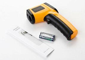 デジタル赤外線非接触IR温度計温度ガンテスター範囲-50~380℃GM320
