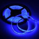 短色 LEDテープライト 防水 強力粘着両面テープSMD 2835 3528 (ブルー)の写真