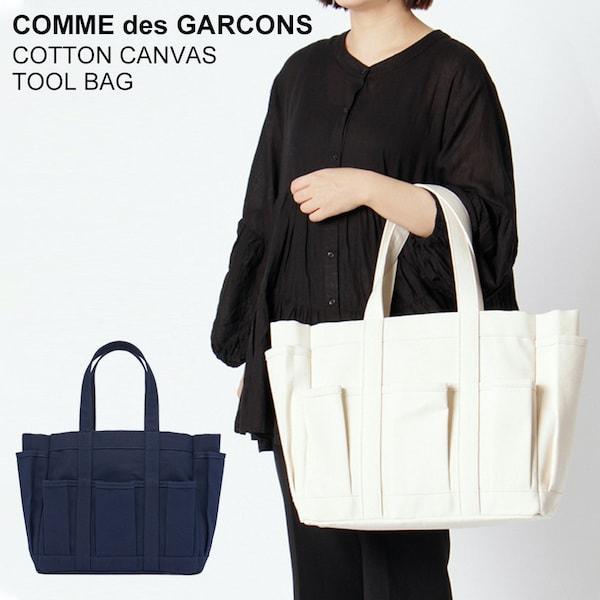 レディースバッグ, トートバッグ  COMME des GARCONS COTTON CANVAS TOOL BAG W27610 COMME des GARCONS