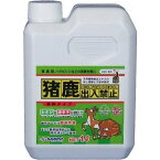 【あす楽対応・送料無料】三宝化成(株)猪鹿出入禁止 液体タイプ1L