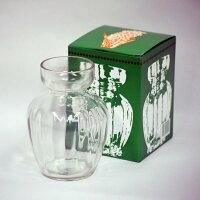 【あす楽対応】(株)フロンティアガ普及型ヒヤシンス用ガラス水裁ポットクリアー
