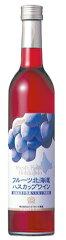 北海道産の果実を使用したサイズも手ごろなフルーツワイン「フルーツ北海道 ハスカップワイン...