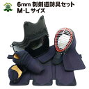 送料無料/送料込み 6mmピッチ刺剣道防具セット 中学生から...