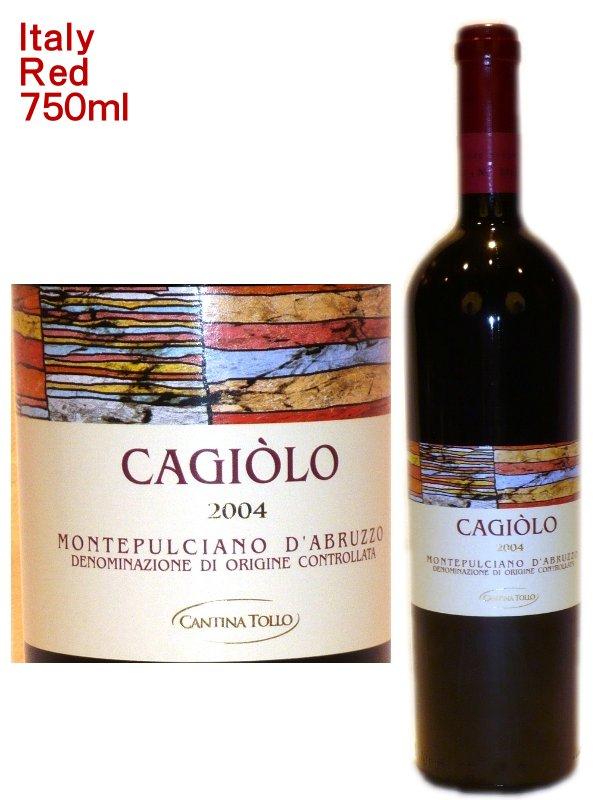 ワイン, 赤ワイン  DOC 2014 Cantina Tollo Cajiolo Montepulciano dAburuzzo