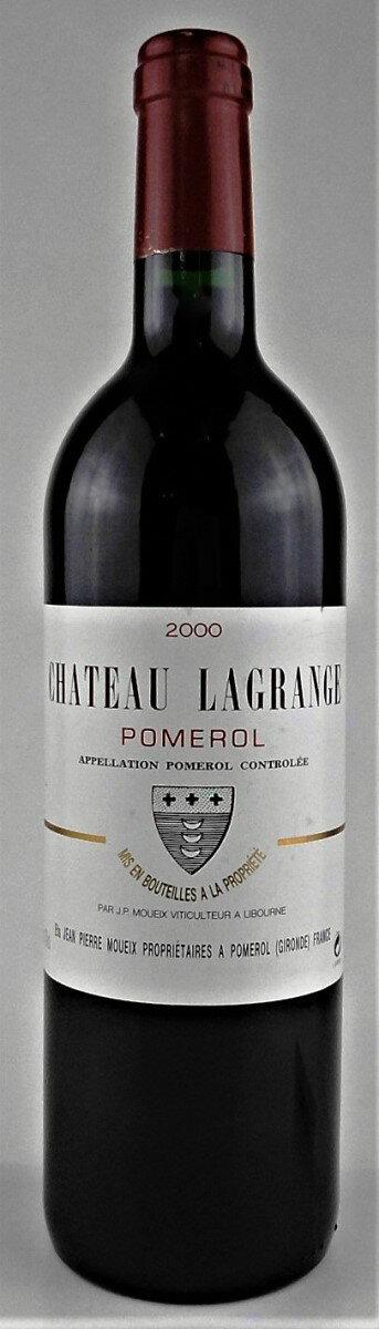 ワイン, 赤ワイン  2000 Chateau Lagrange a Pomerol