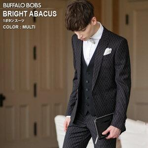 BUFFALO BOBS バッファローボブズ BRIGHT ABACUS ステッチデザイン 1B スーツ