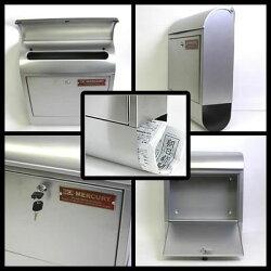 MERCURYマーキュリーMCRMailBox郵便ポスト鍵付き郵便受けメールボックスC062