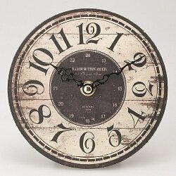 【送料無料】テーブルクロックオールドルックテーブルクロック置き時計アンティーク風WILLIAM【インテリア雑貨の専門店_rich_時計_置き時計_小物_おしゃれ_boy_リッチボーイ】