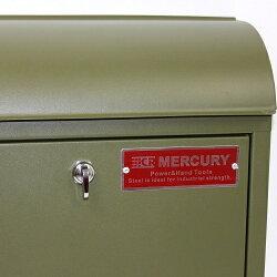 【当店限定】MERCURY郵便ポスト対応付替用レバーC062対応【鍵を使わなくても開閉できます!】