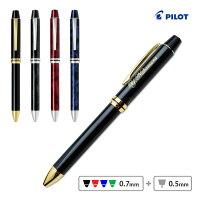 (名入れ多機能ペン)パイロット/4+1RiDGE-フォープラスワンリッジ-/4+110000/黒・赤・青・緑の4色ボールペン0.7+シャープペンシル0.5/複合筆記具/ギフトBOX付き/PILOT/BTHRF1MR//入学/卒業/就職/ギフト/記念品/父の日/母の日/敬老の日/