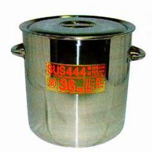 !SUS444 電磁厚底寸胴鍋[33cm]