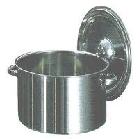 18-8ステンレス半寸胴鍋[27cm]7-0034-05-066