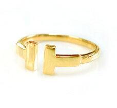 K18地金リングゴールドPGWGスタイリッシュ細身指輪人気プレゼント送料無料