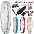◆激得◆ファンボード7'4 選べるボードの初心者セット●サーフボード【SCELL】 サーフィン 初心者7点SET ステップアップモデル