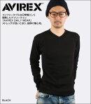 AVIREX(アヴィレックス)デイリーVネック長袖Tシャツ[617394]【あす楽対応】【即納】
