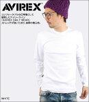 AVIREX(アヴィレックス)デイリークルーネック長袖Tシャツ[617395]【あす楽対応】【即納】