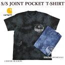 CARHARTTカーハートCARHARTTWIPS/SJOINTPOCKETT-SHIRT半袖Tシャツタイダイ柄ポケットTシャツ