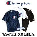 ChampionチャンピオンビッグCロゴTシャツ