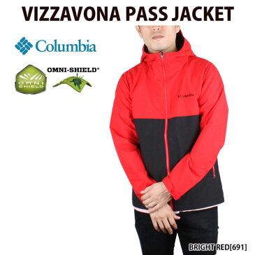 コロンビア Columbia ナイロンジャケット VIZZAVONA PASS JACKET(2018秋冬 PM3427 オムニシールド アウトドア)