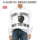 DIESELディーゼルパーカーA002160TAZMS-ALBY-X1SWEAT-SHIRT