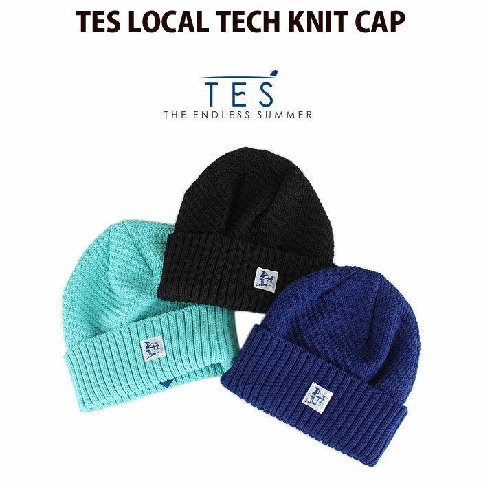 メンズ帽子, ニット帽 TES The Endless Summer TES LOCAL TECH KNIT CAP