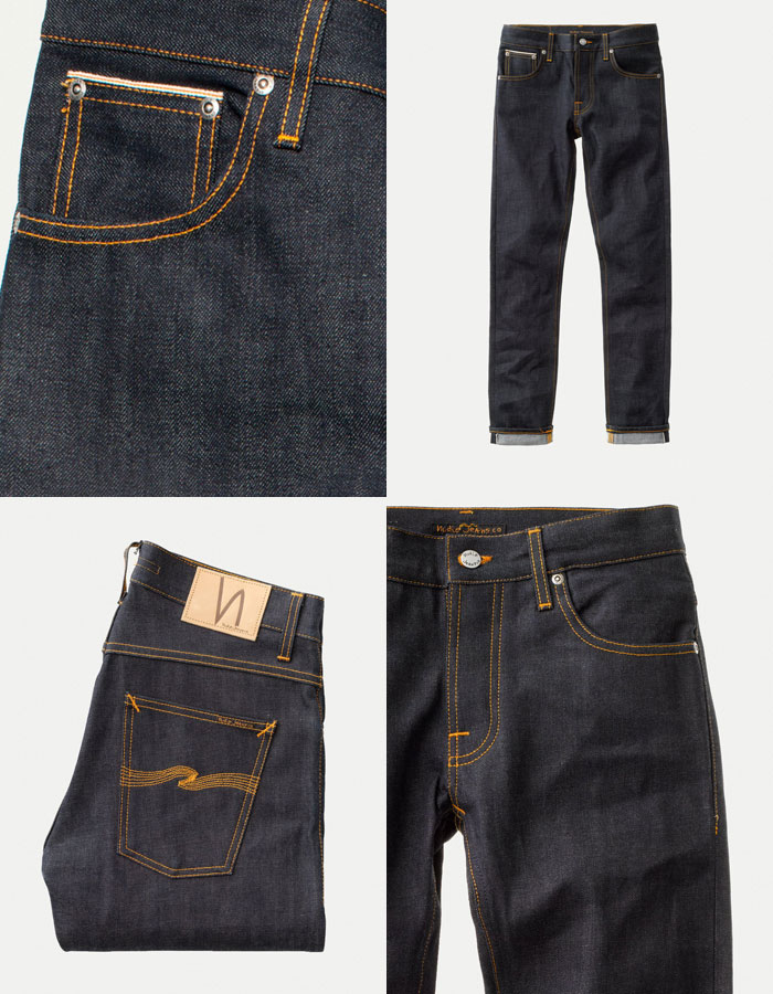 NudieJeans(ヌーディージーンズ)『GrimTimDrySelvage』