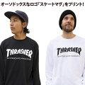 THRASHERスラッシャー長袖TシャツSKATEMAGL/ST-SHIRT【あす楽対応商品】