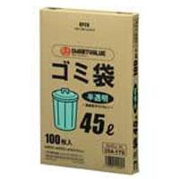 袋, ゴミ袋 354170HD100N045J-45 TC