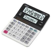 [カシオ]ツイン液晶電卓MV220WNミエミエくんミニジャストタイプ12桁(メイン)+12桁(サブ)