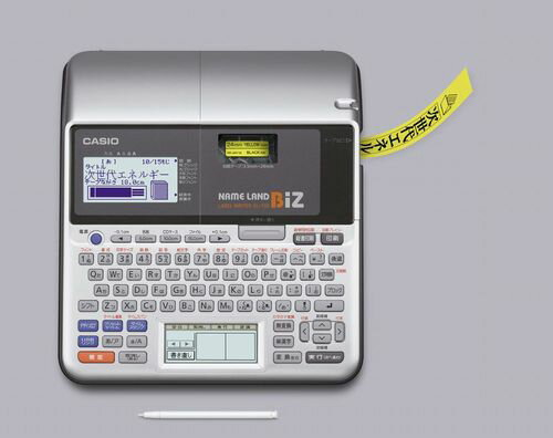 レビューを書いてテープ1本おまけ![カシオ]CASIO 漢字ラベルライターネームランド KL-T50...
