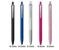 [三菱鉛筆]ジェットストリームプライムシングルノック式シングルモデルボールペン0.5mm/0.7mm軸色:5色