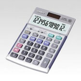 [カシオ]ジャストタイプ電卓 JS-20WKアウトレット[R品]エコロジー設計の本格実務電卓【クロネコDM便不可】