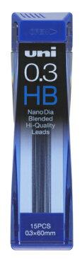[三菱鉛筆]替芯ユニナノダイヤ NanoDia0.3−202ND HB