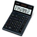 [カシオ]本格実務電卓 JS-201SK-BK【R品】【ブラック】ゴールド5年保証プロ仕様の本格電卓【アウトレット品】