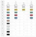 [カシオ]ネームランドテープ白ラベル 青文字【XR-12WEB】 2