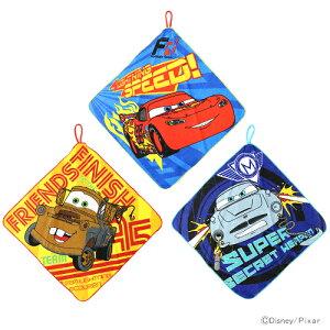 ディズニーのキュートなタオルセット♪【大特価半額!】カーズ<Cars> ループ付きタオル 3枚...