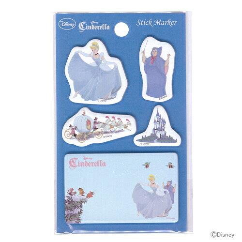 紙製品・封筒, 付箋紙  DC PRS Princess Story 4901770445083 disneyzone M 11