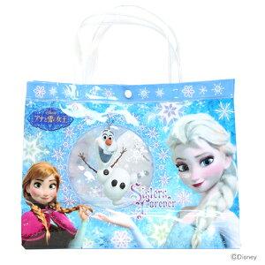 アナと雪の女王バッグ<ビーチバッグ・ビニールバッグ>AY-BG-A34-P【disneyzone】