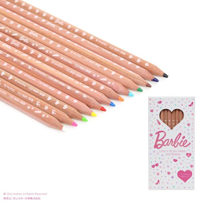 Barbie<バービー> 色鉛筆 12色