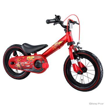 【送料無料・ラッピング不可・同梱不可】アイデス<ides> カーズ<Cars> じてんしゃデビュー2in1<自転車・ファーストサイクル> レッド 00261 【disneyzone】[bike]