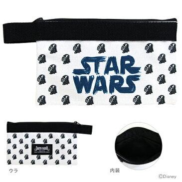 STAR WARS<スター・ウォーズ> フラットペンケース<筆箱・ペンポーチ> SW4 DV<ダースベイダー>柄 4901770510316 【disneyzone】