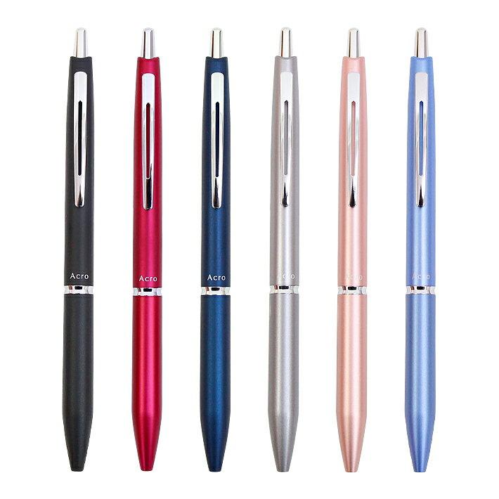 筆記具, ボールペン PILOT Acro1000 0.5mm 6 bac-1sef-plt M 110
